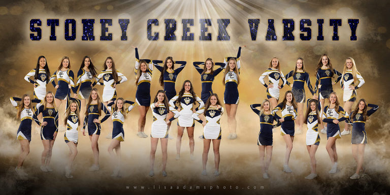 Stoney Creek High School Competitive Cheer Team Banner